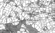 Old Map of Thruxton, 1886