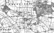 Old Map of Thurgarton, 1885