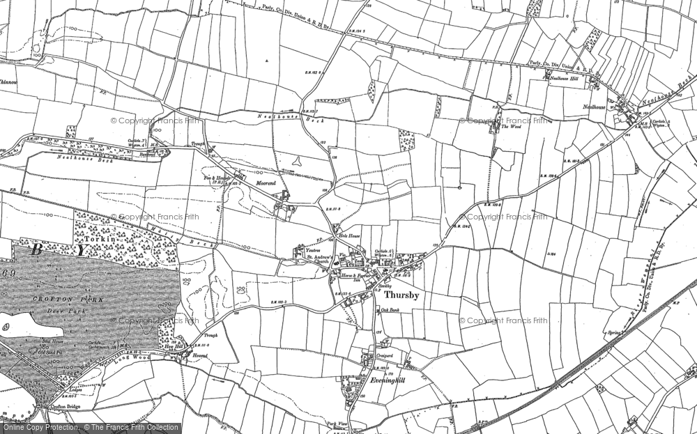 Thursby, 1890 - 1899