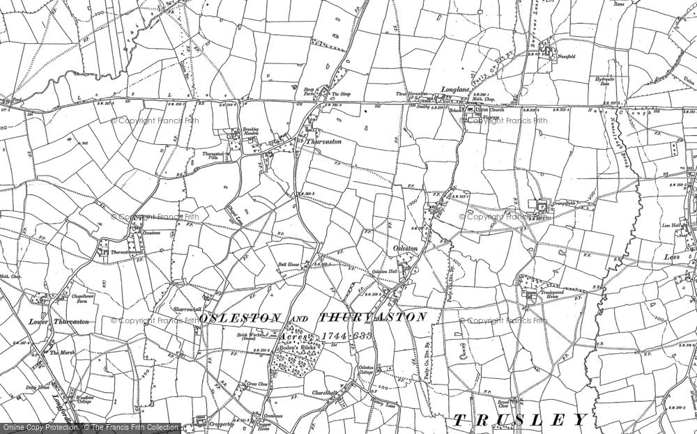 Thurvaston, 1880 - 1881