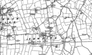 Old Map of Thwaite, 1884 - 1885
