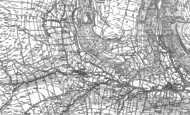 Old Map of Thwaite, 1891 - 1950
