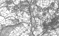 Old Map of Thwaite Flat, 1910 - 1947