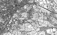 Old Map of Thwaites Brow, 1848 - 1893