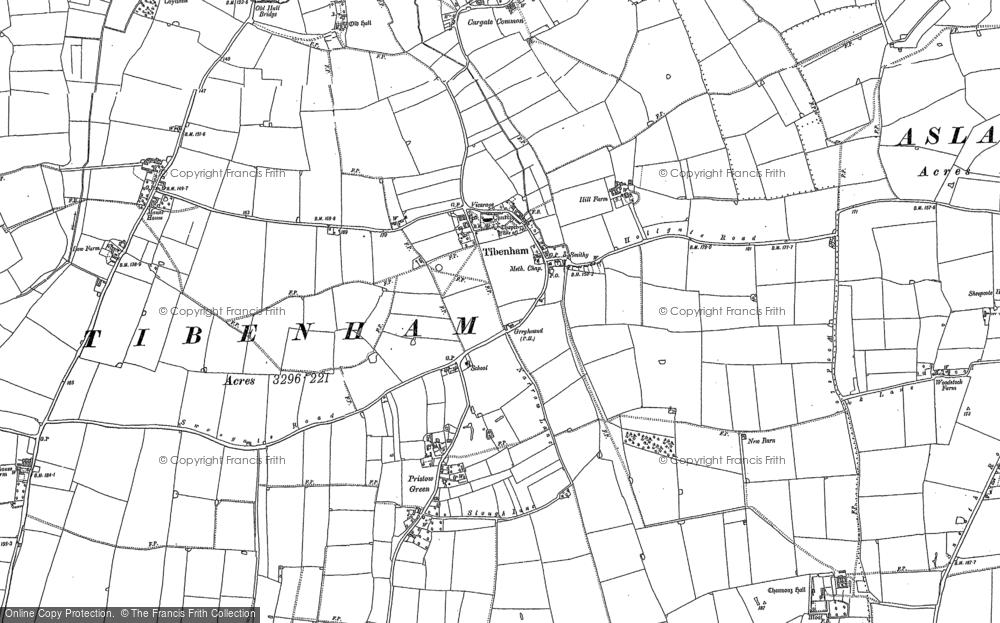 Tibenham, 1883