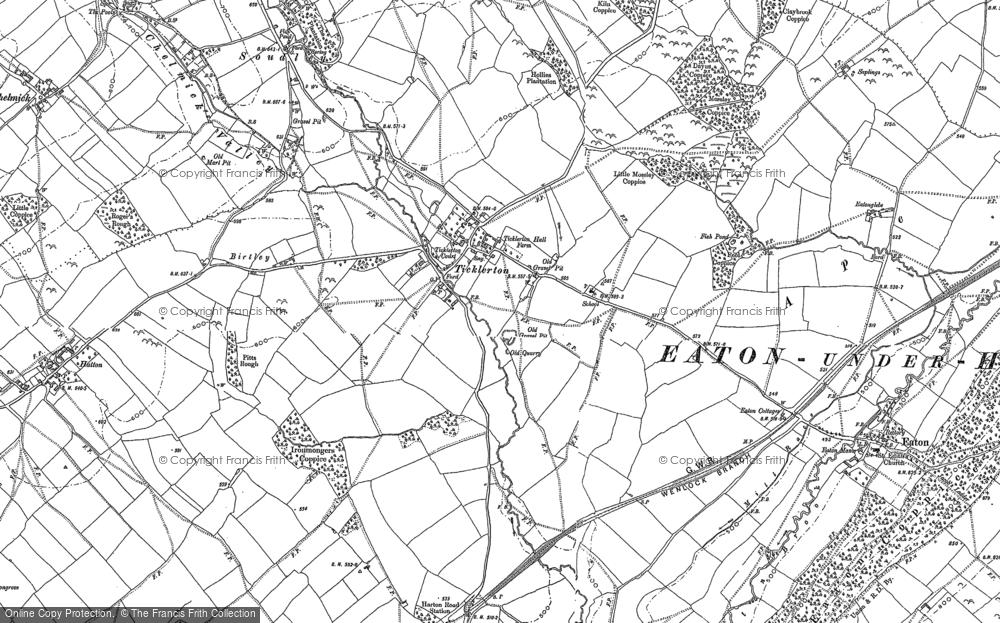 Ticklerton, 1882 - 1883