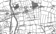 Old Map of Tickton, 1850 - 1853
