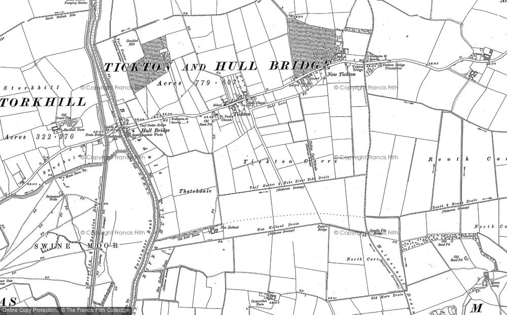 Tickton, 1850 - 1853