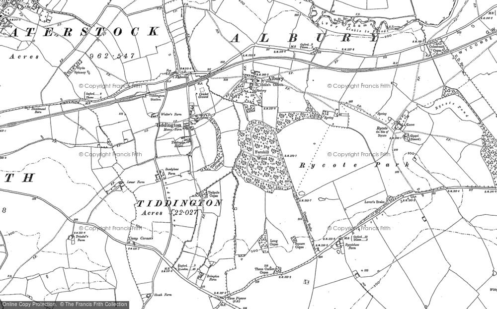 Tiddington, 1897 - 1919