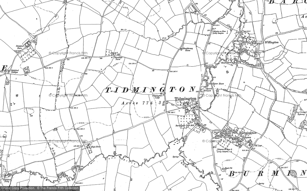 Tidmington, 1900 - 1904