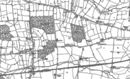 Old Map of Tile Hill, 1886 - 1887