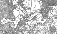 Old Map of Tilford, 1913