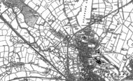 Old Map of Tillington, 1880