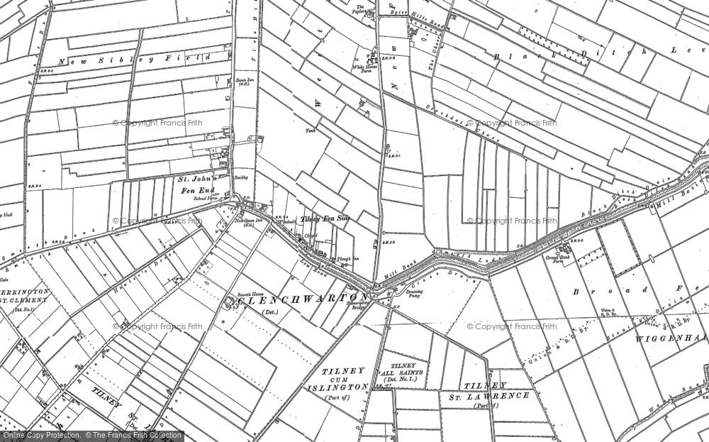 Tilney Fen End, 1886