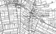 Old Map of Tilney St Lawrence, 1886