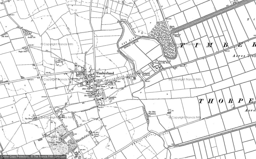 Timberland, 1887