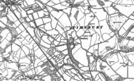 Old Map of Timsbury, 1895