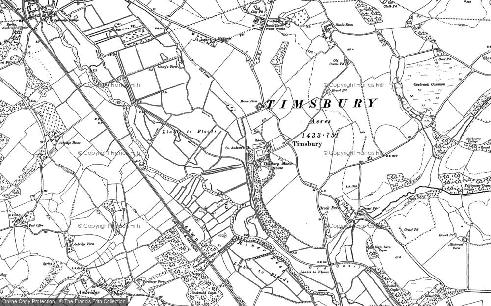 Timsbury, 1895