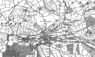 Old Map of Tinhay, 1883 - 1905