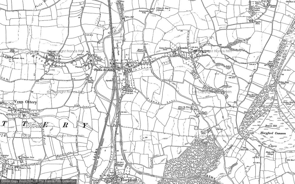 Tipton St John, 1888