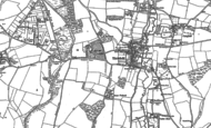 Old Map of Titchfield, 1895