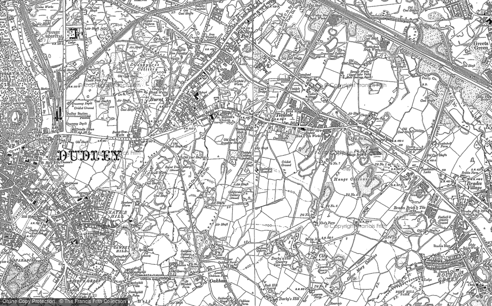 Old Maps of Tividale Francis Frith
