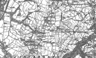 Old Map of Tockholes, 1891 - 1893