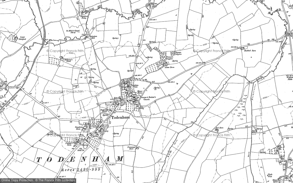 Todenham, 1900