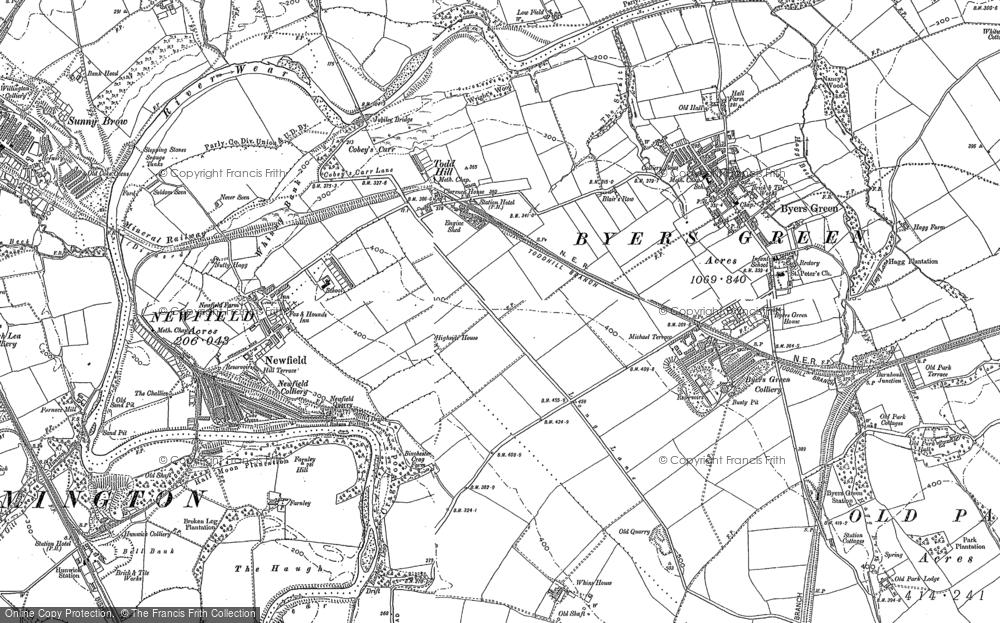 Todhills, 1896