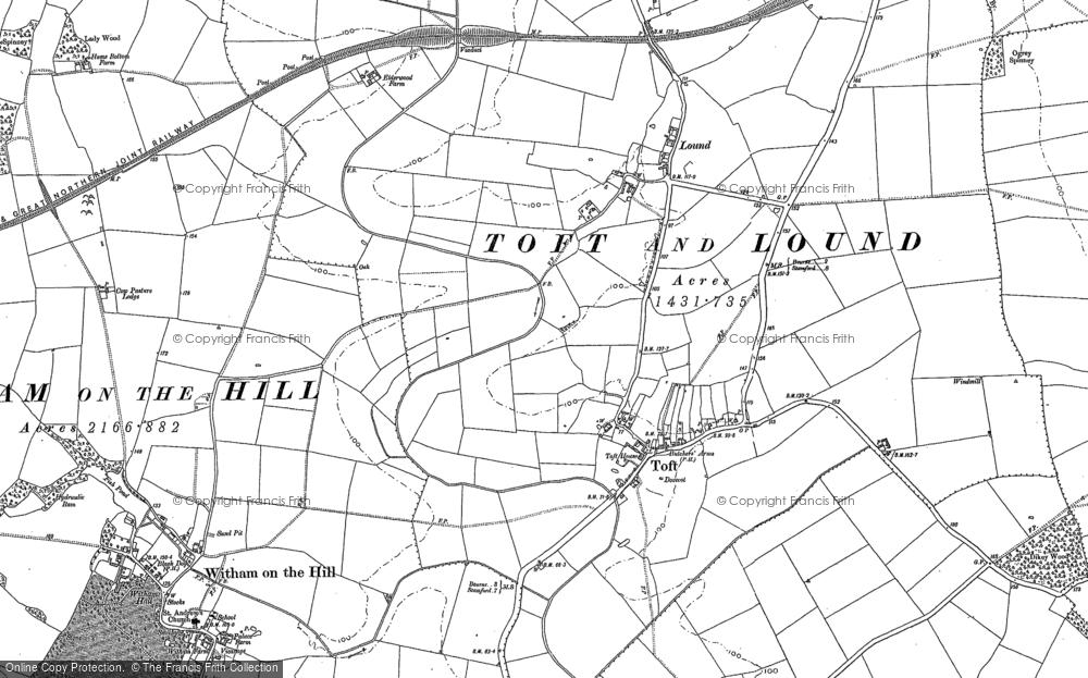 Toft, 1886 - 1887