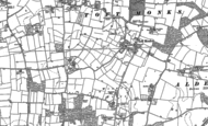 Old Map of Toft Monks, 1884 - 1903