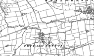 Old Map of Toft next Newton, 1885 - 1886