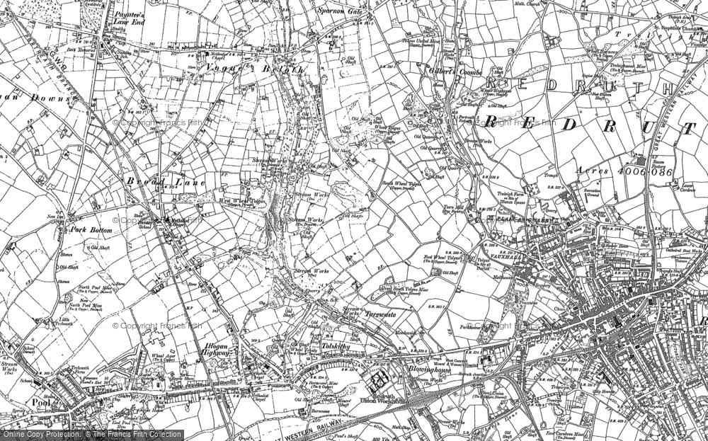 Tolgus Mount, 1878 - 1906