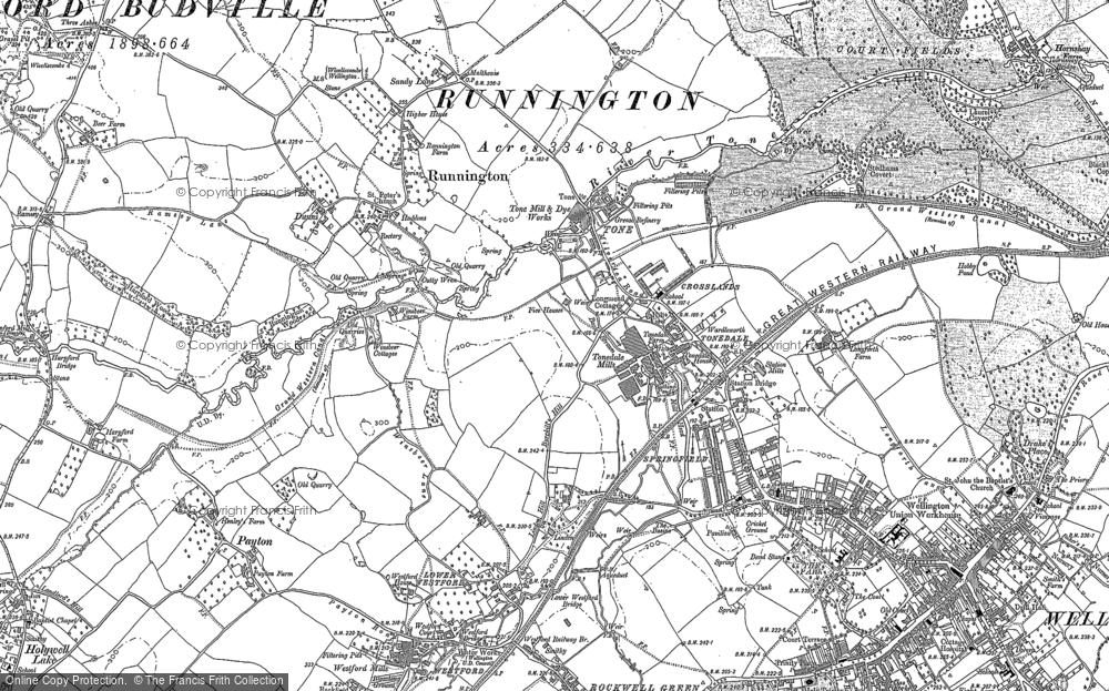 Tonedale, 1887 - 1903
