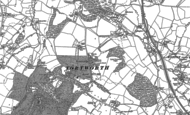 Old Map of Tortworth, 1880 - 1881