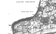 Old Map of Totland Bay, 1907