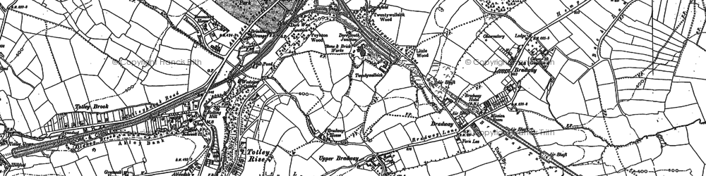 Old map of Abbeydale Park in 1903