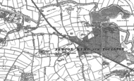 Old Map of Toulston, 1890 - 1891