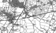 Old Map of Town of Lowton, 1891 - 1906