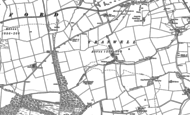 Old Map of Tranwell, 1896