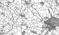 Old Map of Treadam, 1899 - 1900
