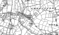 Old Map of Tredington, 1883