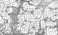 Old Map of Tredinnick, 1881 - 1882