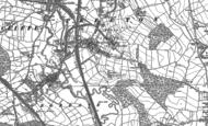 Old Map of Treeton, 1890 - 1891