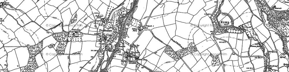 Old map of Whole Ho in 1886