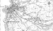 Old Map of Trefechan, 1904