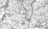 Old Map of Trefilan, 1887