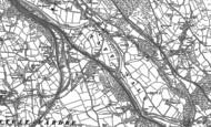 Old Map of Treforest Industrial Estate, 1898