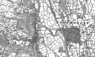 Old Map of Trefriw, 1887 - 1899