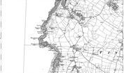 Old Map of Tregatta, 1905